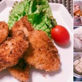 鶏肉カットと下準備で食事作りが楽々!・・むね肉のフライ